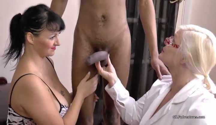 Big Tits Shemale Threesome